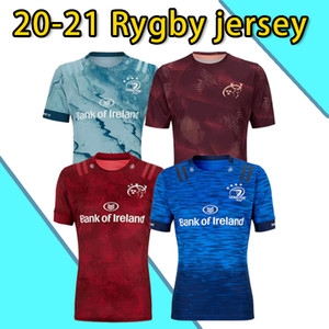 Leinster Rugby Jersey 2020 2021 Munster City Rugby Jerseys 20 21 Munster City Home Away Men Rugby-Trikots Tamanho S-5XL