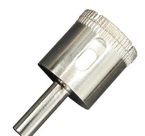 Diamond Hole Sega Drill Bit Tool Bit Marble Glass Diamond Core Drill Bit Cerchiali in ceramica Piastrella Branco Coltello Glass di Jlllus Garden_light