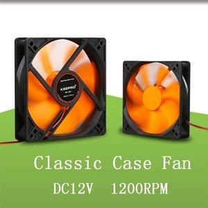 Портативный компьютер 12cm Fan Cooler 120x120mm PC охлаждения процессора Cooler Вентилятор 16дБ бесшумного корпуса компьютера Cooling