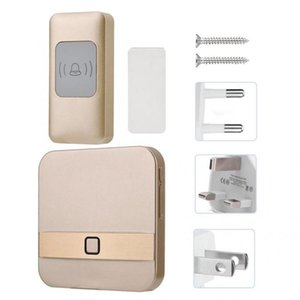 Video Peephole Smart Wireless Hoolbell Водонепроницаемый Двери Колокольчик SOS 52 Рингтоны Дверной колокольчик Камера