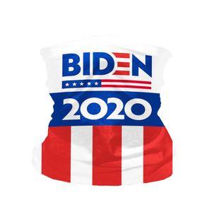 Biden Bandana Cycling Face Mask Joe Biden per Presidente 2020 US Election Neck Ghaitber Sciarf Seamless Headwear EWA1060