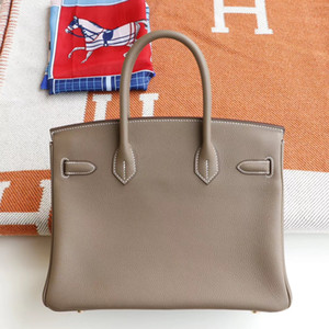 Borse di alta qualità Versione 40cm 35 cm Berkin Lussurys Designer Borse Borse in pelle reale Tote 2020 Solds Hot Solds Borse da donna Designer Designer Borse borse