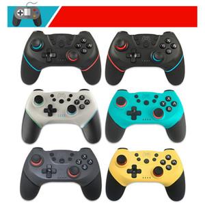 GamePad sans fil Bluetooth jeu GameStick Controller avec poignée à 6 axes NS-Switch Pro pour la connexion de la poignée Double charge et support