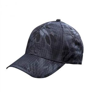 HuntingBaseball Ejército Wolfslaves sombrero al aire libre del casquillo del sombrero de caza táctico de accesorios Kryptek camuflaje Cap múltiple