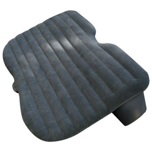 Car Air Bed Comfortable Travel Inflatable Car Back Seat Cushion Air Mattress with Pump for Camping Trip
