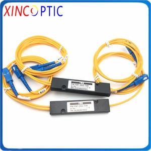 5Pcs Lot,1*2 FWDM Filter ABS BOX TX1550 RX1310 1490nm,3mm 1M With 1550-SC UPC,COM-SC UPC,1310 1490-SC UPC