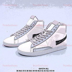 Casual Skateboard Men Women Blazer Mid Mens Running Shoes White black outdoor Sport Sneakers Size 36-44