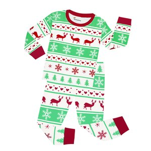 طويلة الأكمام القطن بنين عيد الميلاد ملابس نوم الأطفال ملابس للبنات عيد الميلاد الرنة بيجامة مجموعات ديناصور Pijamas بيجامة الشقي