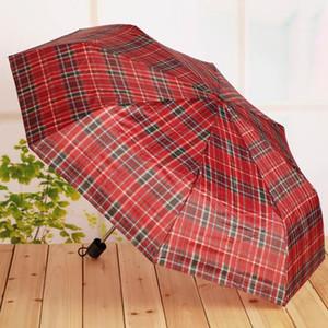 NEW Folding Umbrella Rain Windproof Portable Short Handle Fashion for Outdoor Travel, Random Color Delivery, Size:25cm