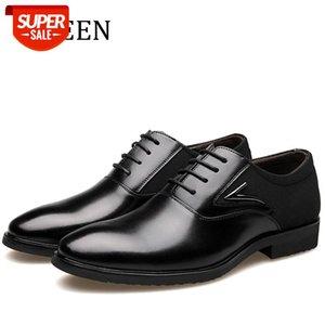 Meening Beach-Up Мужские одежды Обувь высокого качества Оксфордские Обувь Мужчины Мода Размер бизнеса EUR38 EUR48 # OO4F