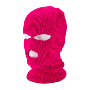 Fashion Knit Ski Mask Hat Sports Windproof Face Cover Beanie Cap Winter Warm Cycling Mask Festive Party Masks CYZ2833