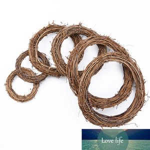 10cm 15cm 20cm Rattan Ring cheap Artificial flowers Garland Dried flower frame For Home Christmas Decoration DIY floral Wreaths