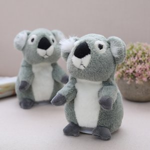 Talking Koala Pet Plush Toy Repeat What You Say Educational Toy Hamster Doll for Children Gift 18cm
