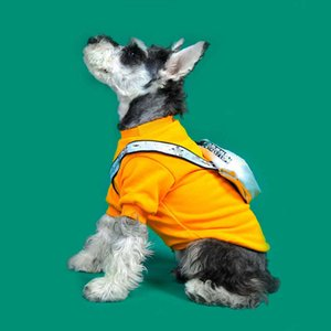 Puppy Thicken Pets Schnauzer Sweaters Outdoor Winter Cats With Teddy Dogs Backpack Clothes Pullover Pug Warm Sweatshirts Pgkim