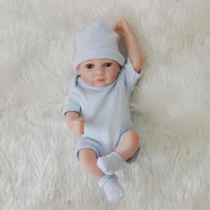 Bebe Renacido completa cuerpo blando de silicona bebés los 28CM imitación realista renacida del bebé Lol regalos para el niño muñecas Boys Toys