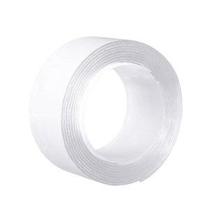 1m 2m 3m 5m transparent color double side removable gel nano pad grip tape & double sided viscosity reusable washable vNeVq