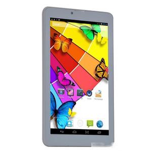 7 인치 패 블릿 태블릿 3G 전화 듀얼 SIM 카드 잠금 해제 GPS 블루투스 MTK6572 듀얼 코어는 GSM 와이파이 듀얼 카메라 WCDMA를 호출