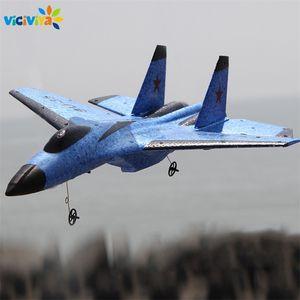 Süper Serin RC Mücadele Sabit Kanat RC Uçak FX-820 2.4G Uzaktan Kumanda Uçak RC Plane Y200413