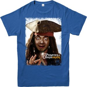 Jack Sparrow T-shirt drôle Tenues de soirée MR Bean SpoofAdult et enfants Tailles Hauts à manches courtes T-shirt 2018 du sport Sweat à capuche à capuche