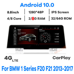 """8.8"""" 8Core 8+64G Android 10 Car Multimedia Player GPS Navigation for BMW 1 Series F20 F21 EVO 2018 2019 Stereo Navi Head Unit"""