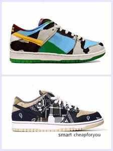 Chunky dunky SB Low Dunk Authentic Running Shoes Man travis scott Parachute Beige Petra Brown Designers Sports Sneakers