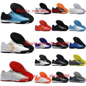 2021 Высочайшее качество Мужские футбольные туфли Tiempo Ligera IV TF TRF Футбольные бутфы футбольные ботинки Scalpe