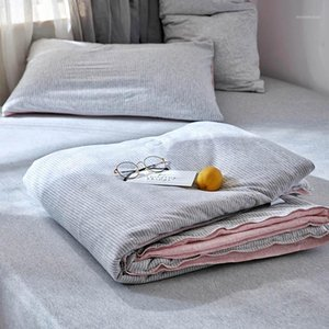 knitted cotton quilted bedspread bed blanket summer winter throw for children adult japan style comforter quilt blankets1