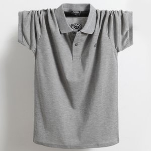 Новые +2018 Марка POLO Рубашка мужская Хлопок моды Камиза Polo Лето с коротким рукавом рубашки поло мужчин Плюс Размер M-6XL