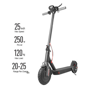 US Stock Folding Electric Scooter For Adults Kids 250W Foldable E Kick Scooters With App Two Wheel Skateboard Fast Shipping