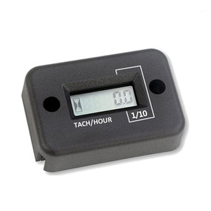 Tach Vibration Hour Meter Hour Counter RPM Counter Waterproof, Wireless 23GB1