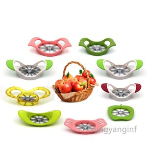 Apple Slicer, 9 Different Design Apple Cutter Tool,430 Stainless Steel Apples Slicer and Corer, Great Apple Corer Remover MY-inf0525