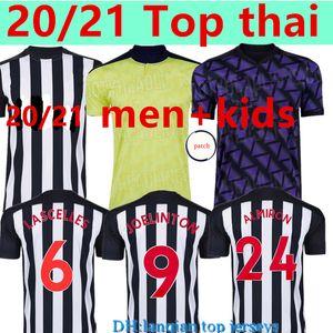 Новый 20 21 NUFC футбол Джерси Шелви 2020 2021 Джоэлинтон футбол рубашка Almiron RITCHIE Гейл Оборудование для мужчин Детские наборы