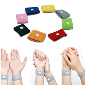 Anti Übelkeit Handgelenkstütze Sport Cuffs Sicherheit Armbänder carsickness Seasick Anti Reisekrankheit Bewegung Krank Wrist Bands EWB2101