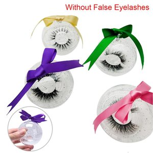 1PCS Cute Ball Shape Eyelash Packaging Box Lash Boxes Packaging Eyelashes Case Makeup Storagety Hand Made