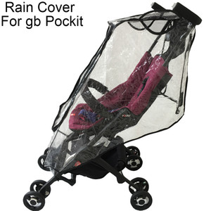 1:1 Stroller Accessories Rain Cover for Goodbaby POCKIT Waterproof Windproof dust-proof Cover For GB A 2S 3S 3C PLUS 18CN 2D 201022