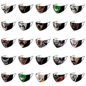 Harley дизайнер Half Order ушной Joker маска Joker Маски Обложка Dicount Quinn Bigger лица нос ремешок маски Harley Интернет Регулируемое Off bbyDJ