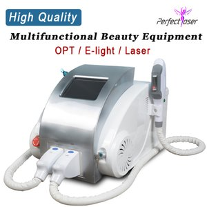 2500W POWER POWER PROFESSIONALE SHR macchina permanente Depilazione permanente ND YAG Laser Tattoo Rimozione E-Light Skin Ringiovanimento CE Approvazione