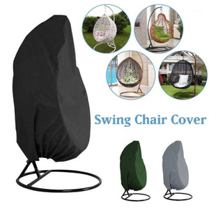 Outdoor Garden Hanging Swing Chair Cover Patio Waterproof Dustproof UV Protection Polyester Universal Egg Swing Chair Cover1