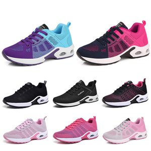 Non-brand women running shoes color black red pink purple blue fashion breathable cushion women shoes sneakers sports size 35-40