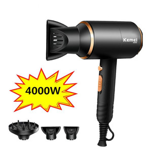 Ionic Hair Dryer 3 In 1 Strong Power 4000w Blow Dryer Electric 210-240v Professional Hairdressing Equipment