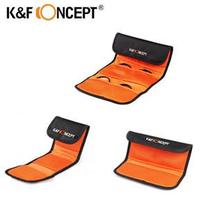 KF-Konzepthalter-Beutel 3/4/6 Taschen Geldbörsenfall für 49-77mm UV CPL FLD ND-Kamera-Objektivfiltertasche Q1222