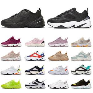 Nike M2K Tekno off white أحذية ركض مكتنزة للرجال لعام 2021 عالية الجودة من البلاتين باللون الأبيض والأزرق والجو الرمادي والأسود والكاكي أحذية رياضية للرجال والنساء أحذية