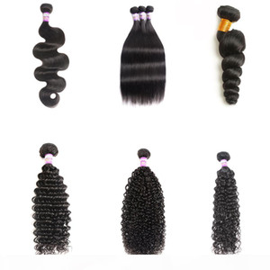 9a Mink Brazilian Body Wave Straight Deep Wave Water Wave Hair Unprocessed Human Hair Extensions Brazilian Body Hair Weave Bundles