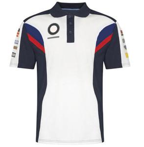 La nouvelle version de l'équipe Moto Racing Moto à manches courtes T-shirt T-shirt Polo-shirt Pull-Absorbant et séchage rapide moto courte t-shir