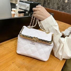 2020 Wide Stone shoulder strap handbag ladies bag chain Shoulder bags Handbag Fashion bags ladies shoulder bag Stripes Fashion bag Puti 10