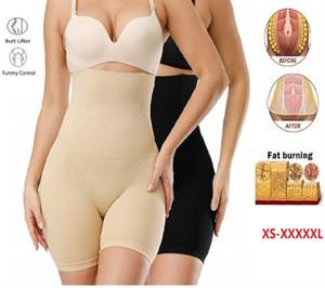 Hot Fat Burning High Waist Underwear Body Shaping Underwear Seamless Abdomen Control Shaping Pants 3pcs free shipping