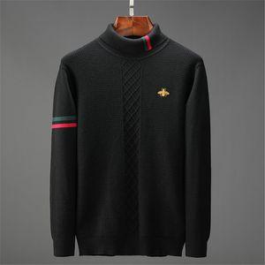knitwear Pullover Männer 2020 Mode-Pullover-Strickjacke Männer O-Ansatz Rollkragen Slim Fit Knitting Männer Pullover Mann Pullover Männer