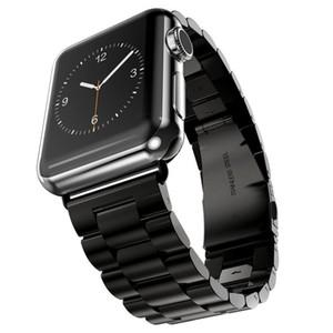 44mm 40mm 38mm 42mm Mode Metall Sport Armband Edelstahlband für iWatch Serie 4 3 2 1 Uhrenbande Apple Watch Band