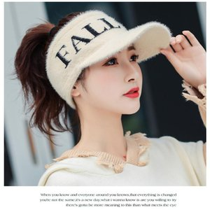 Japanese-style Cotton Jersey Empty Top Summer Hat Summer Solid Color Sun-resistant Topee Foldable No Top Versatile Sun H