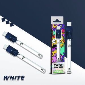 COSO Bottom Twist Batterie 380mAh Bottom Spinner Twist Bottom Taste, um die Spannung VV-Batterie für dickes Öl 15 Sekunden vorheizt